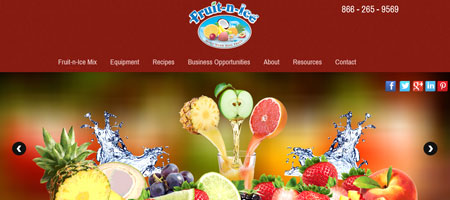 Beverages Website Development